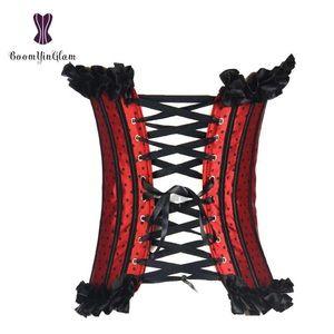 BoomYinGlam Intimates & Sleepwear - Red Polka Dot Pinup Waist Trainer Corset